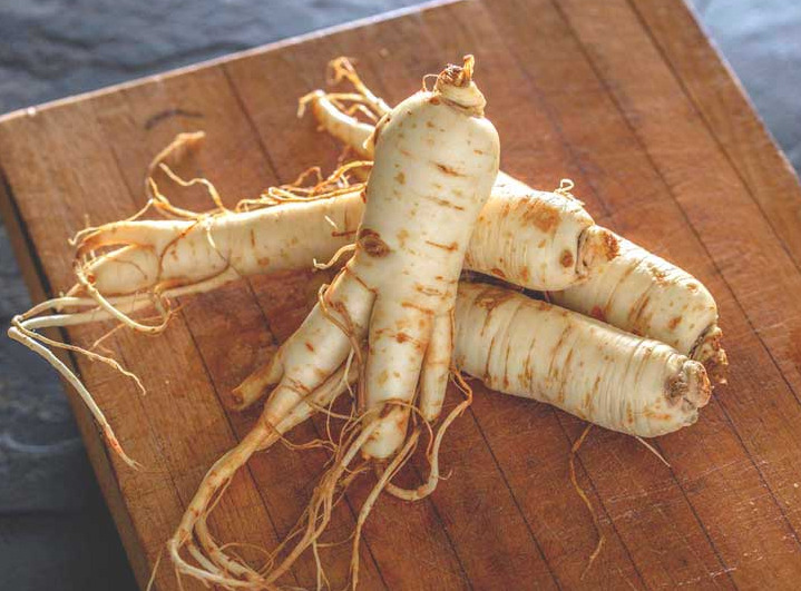 Panax Ginseng, Korean and a Chinese Herb